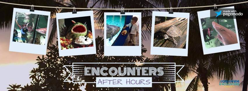 Join us for our Member's Appreciation Event , Encounters After Hours at Florida Keys Aquarium Encounters!